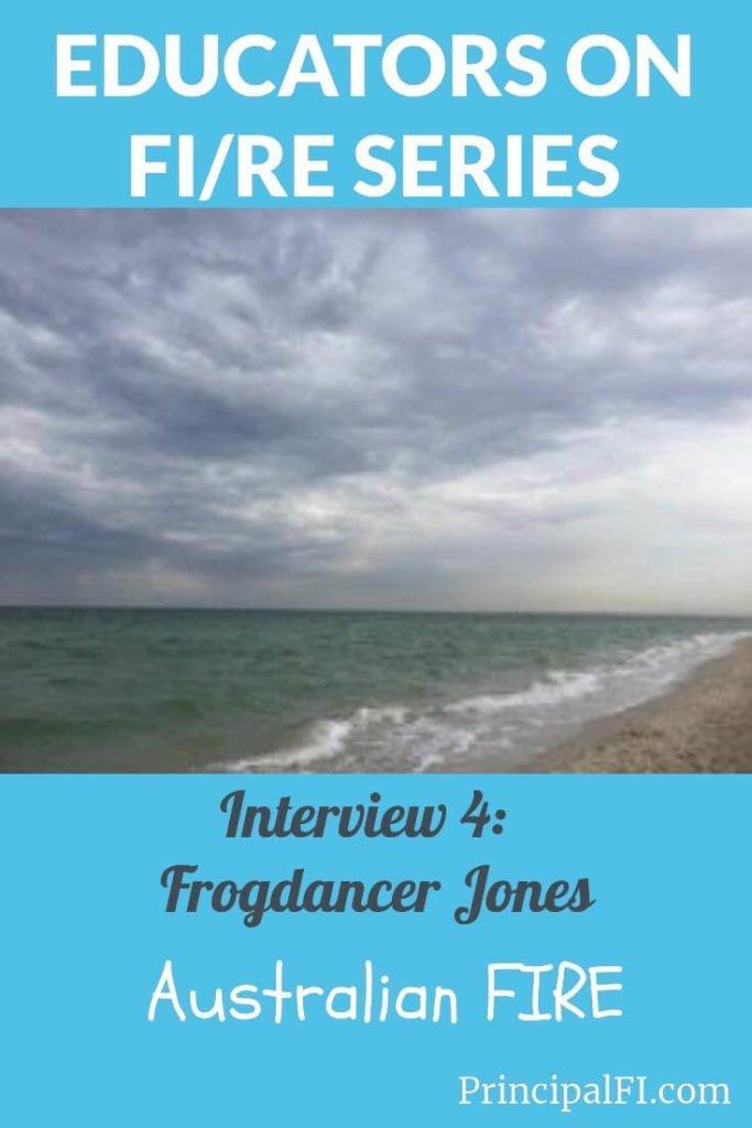 Educator on FI/RE 4:  Frogdancer Jones tells her story.