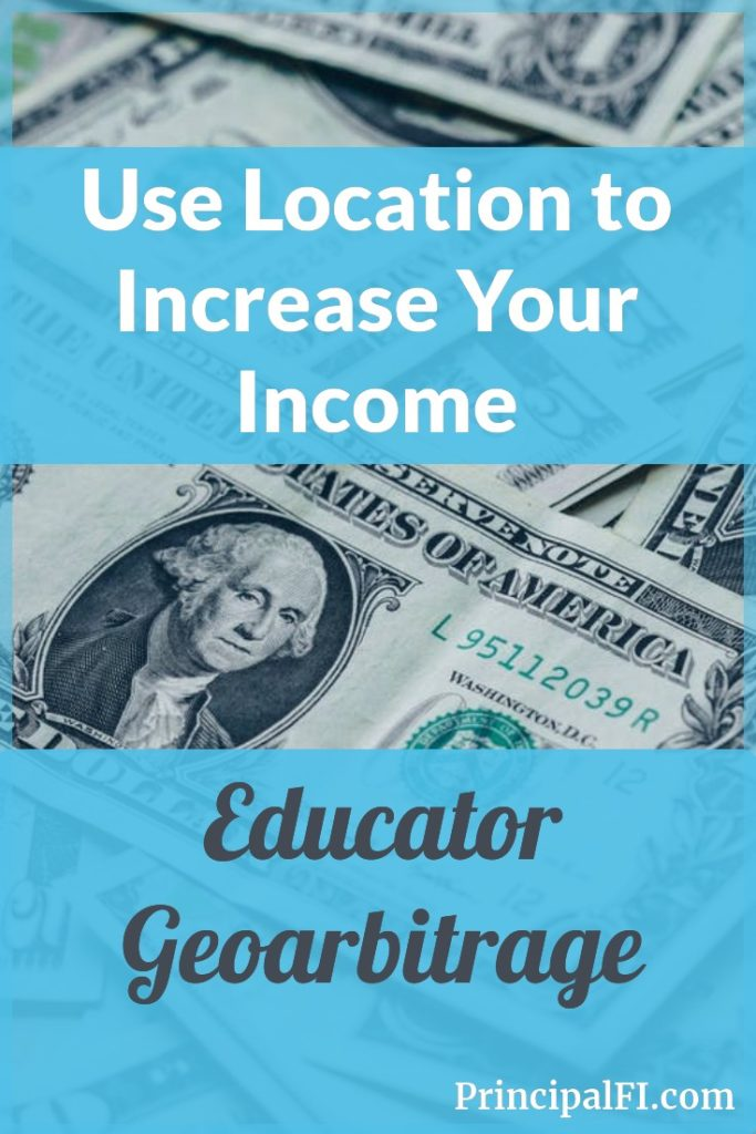Three ways to use location to increase your educator income.  Speed your path to financial independence