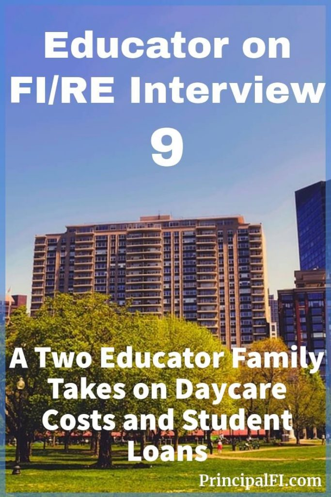 A two educator family makes financial progress while dealing with high daycare costs and student loans.  Read their impressive story here.  #educatorwealth