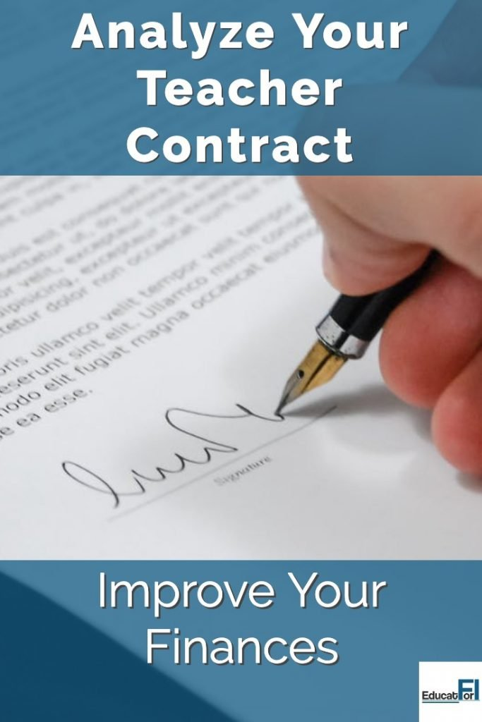 Understand your teaching contract.