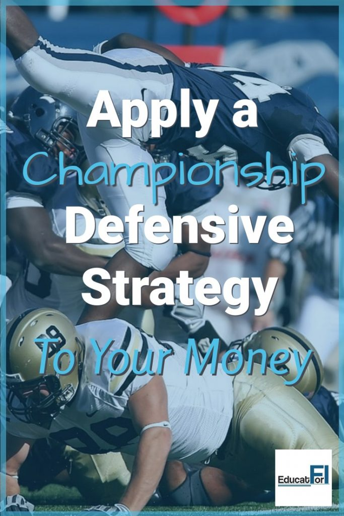 The Patriots have won six NFL championships by doing one thing consistently well. Apply this defensive strategy to your spending and make significant progress.