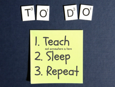 Teaching To Do List
