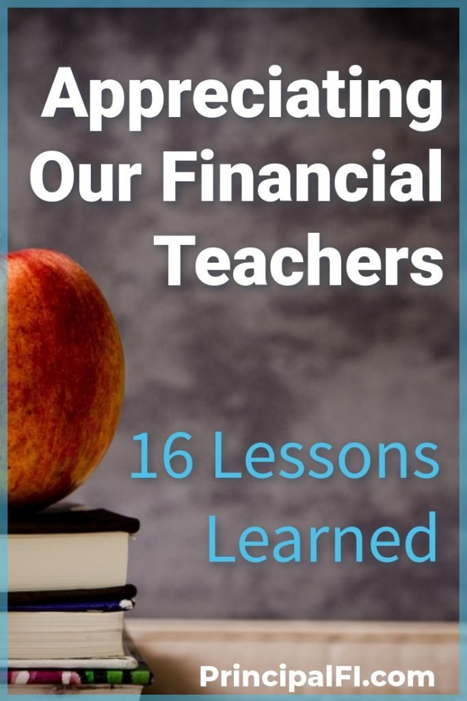 In honor of Teacher Appreciation Week, 16 personal finance writers recognize their important financial teachers.  Learn the financial lessons that matters to them!