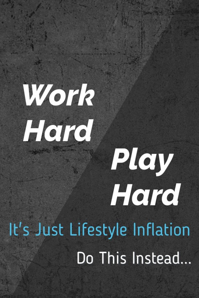 Work hard play hard can be a vicious cycle. Live intentionally instead and enjoy life more!