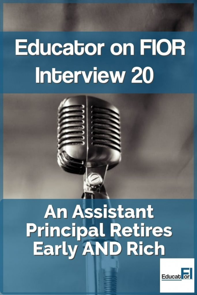 This career educator is retiring early AND rich.  Read his impressive story here!