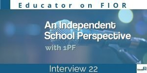 Educator on FIOR 22