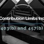 2020 403b contribution limits increase