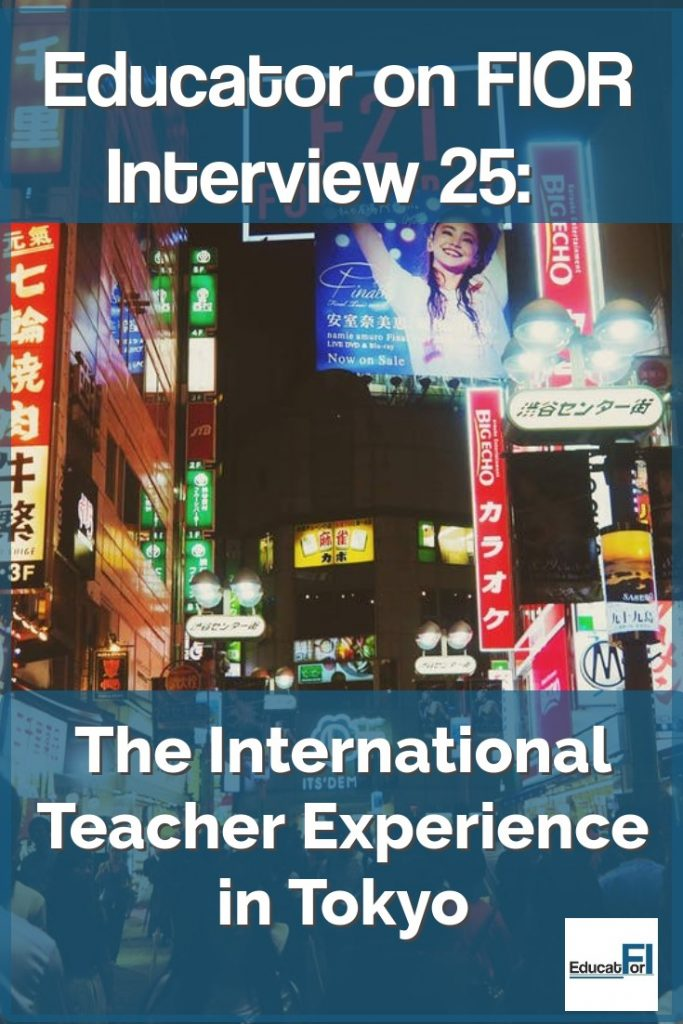 International teaching and financial independence?  JJ shares his story!