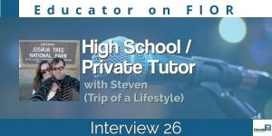 Educator on FIOR Interview 26