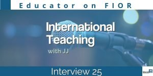 Educator on FIOR 25 International Teaching