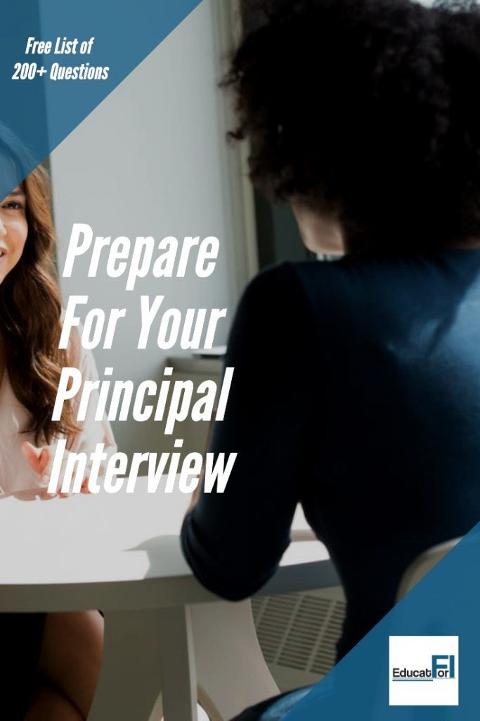Principal Interview Questions - Prepare for your interview with this FREE list of more than 200 principal interview questions.