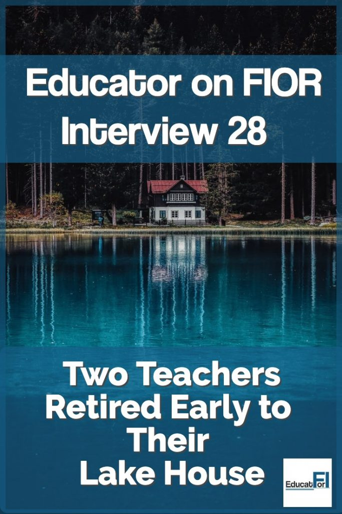 Two Texas teachers retired early to their lake house.  Read their story here!