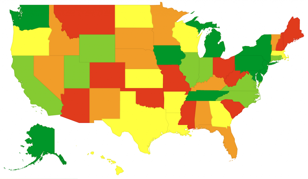 Best States for Teachers Seeking Financial Independence