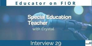 Educator on FIOR 29 Featured