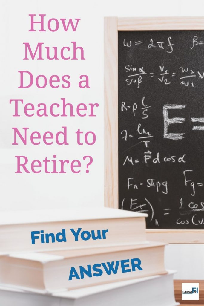 How Much Does a Teacher Need to Retire? Find Your Answer Fast.
