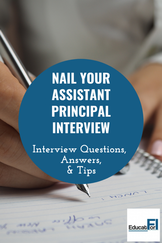 Nail your assistant principal interview with these questions, answers, and tips. #assistantprincipalinterviewquestions
