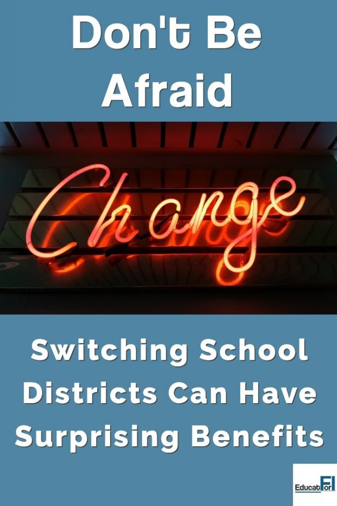 Switching school districts as a teacher can have surprising benefits!