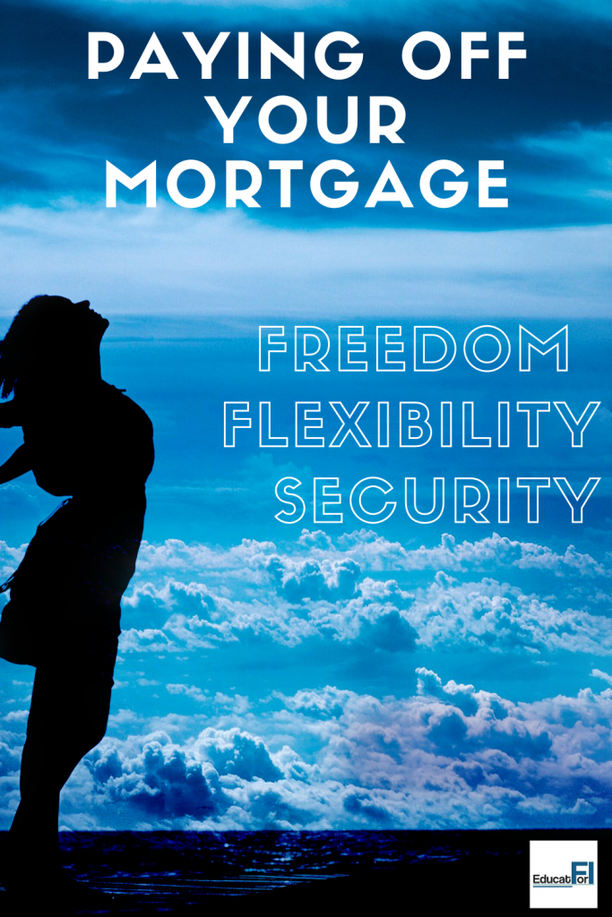 Paying off your mortgage gives you freedom, flexibility, and security.