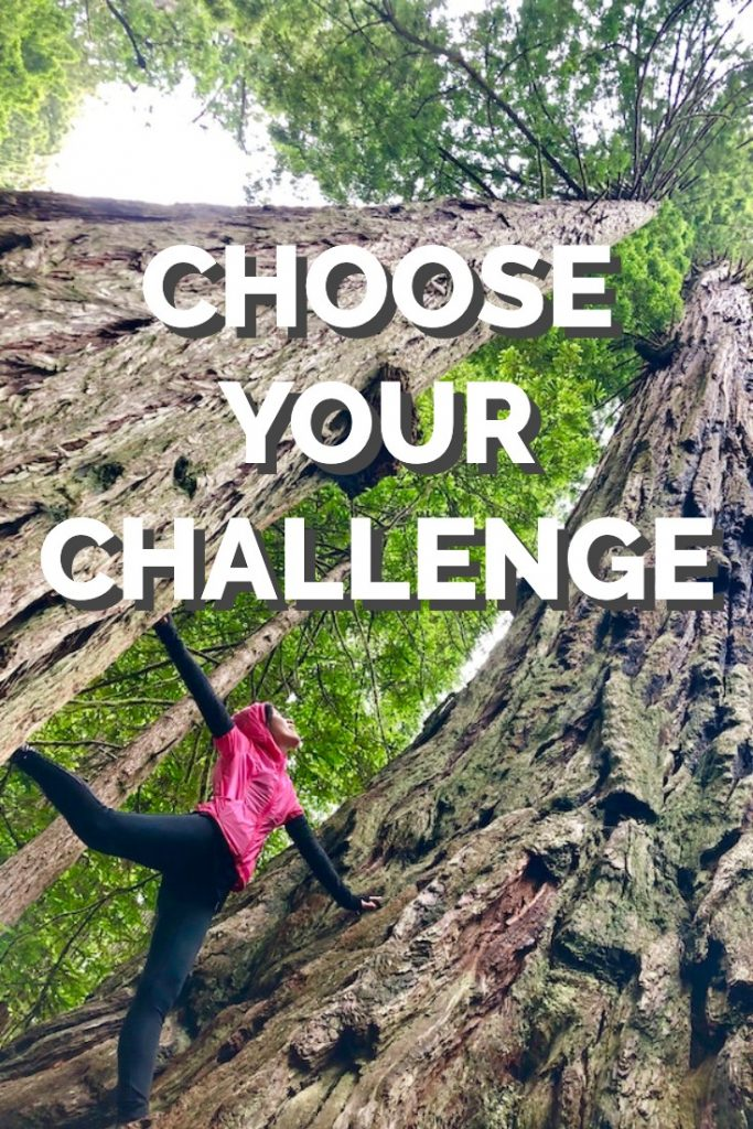 Challenge is great. It's even better when you choose it.