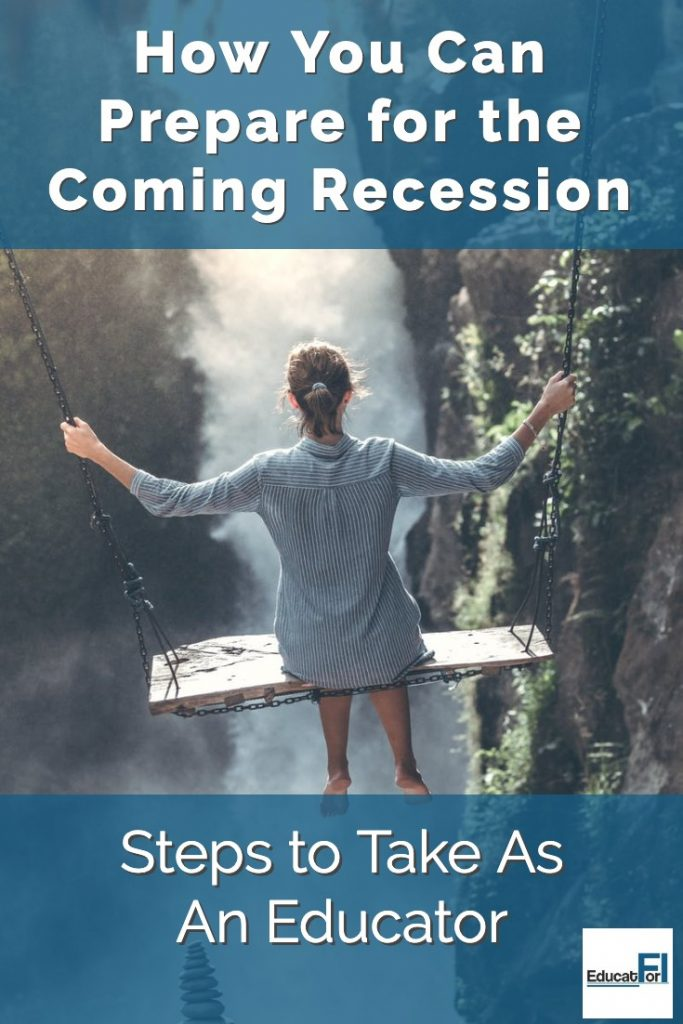 How to prepare for a recession as an educator.  Steps to take now.