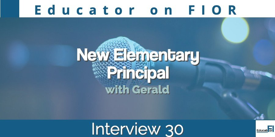 Educator on FIOR 30 with Gerald