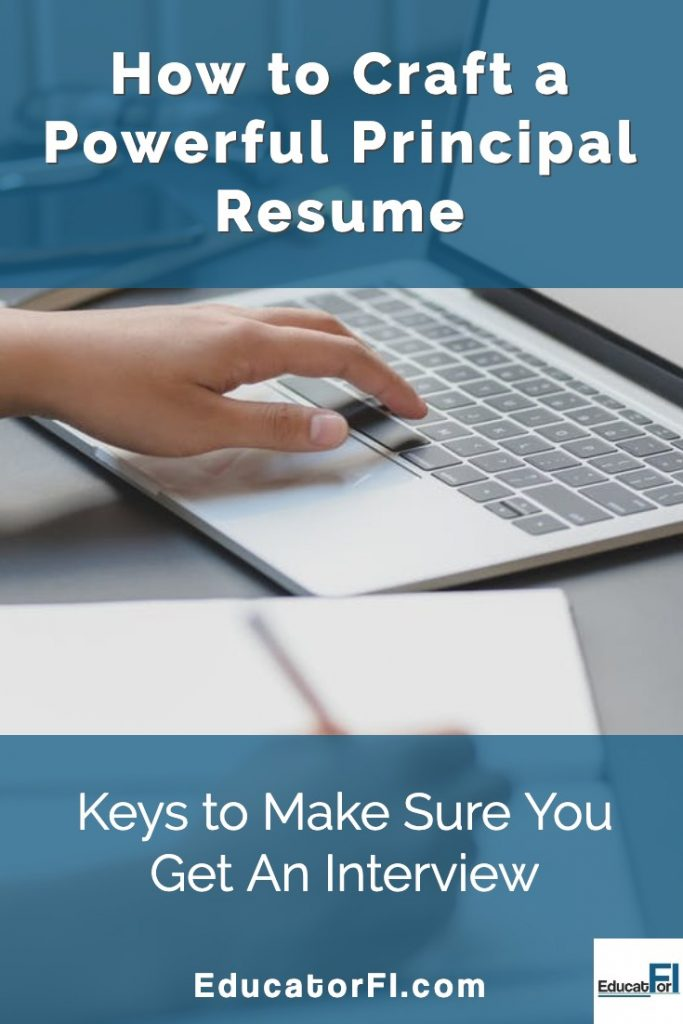 How to Craft a Powerful Principal Resume