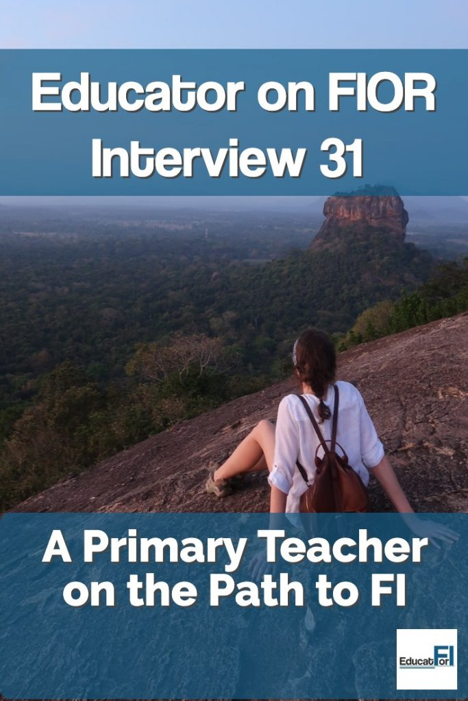 A Primary Teacher on the Path to Financial Independence.