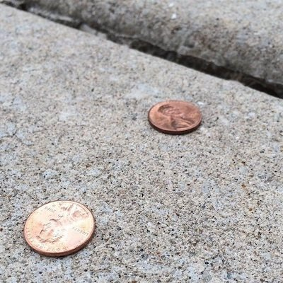 She Picks Up Pennies