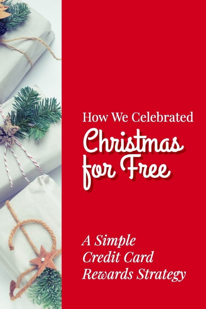 Christmas for free using a simple credit card rewards strategy.