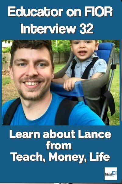 Educator on FIOR 32 with Lance TeachMoneyLife