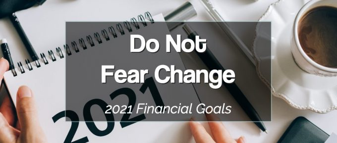 2021 Financial Goals