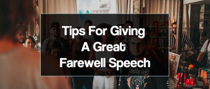 Retirement Speech for Teacher